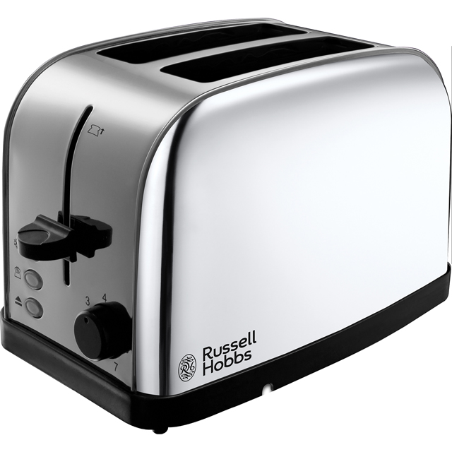 russell hobbs 18784 dorchester 2 slice toaster polished stainless steel new ebay. Black Bedroom Furniture Sets. Home Design Ideas
