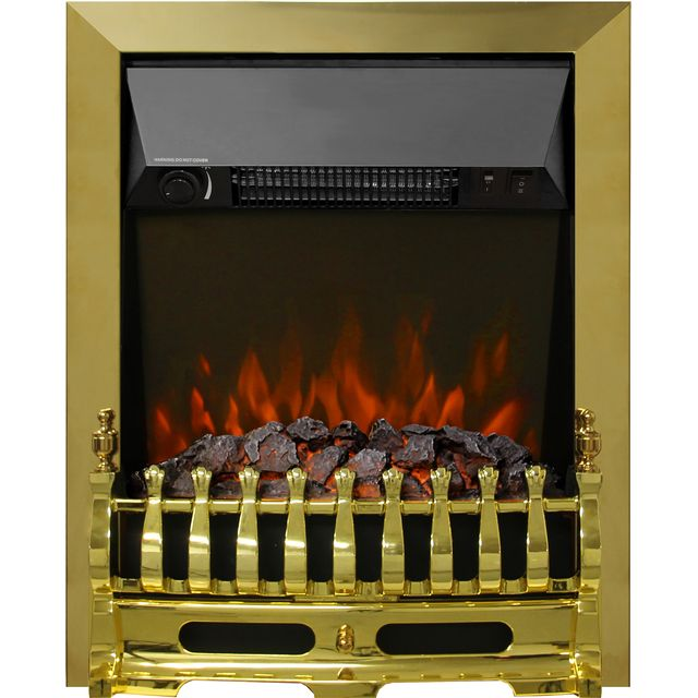 BeModern Bayden Coal Bed Inset Fire - Brass