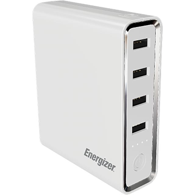 Energizer 20000 mAh Power Bank - White - 199167 - 1
