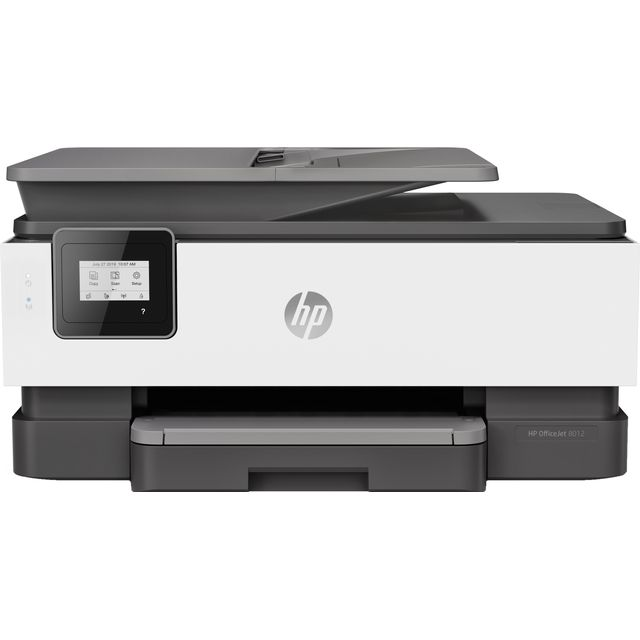 HP OfficeJet 8012 Inkjet Printer - White
