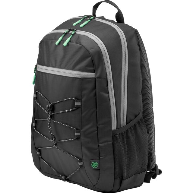 HP Active Backpack - Black / Green