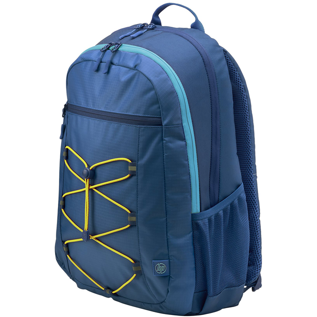 "HP Active Backpack for 15.6"" Laptop - Yellow / Blue - 1LU24AA#ABB - 1"