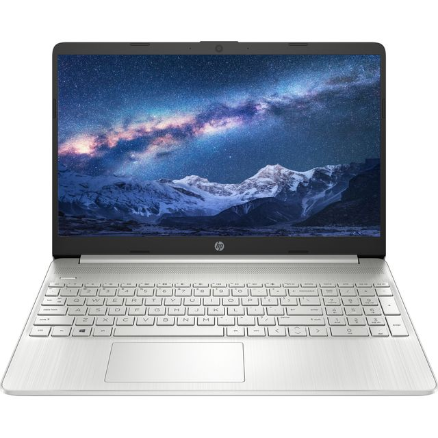 "Image of HP 15s-eq1018na 15.6"" Laptop - Natural Silver"