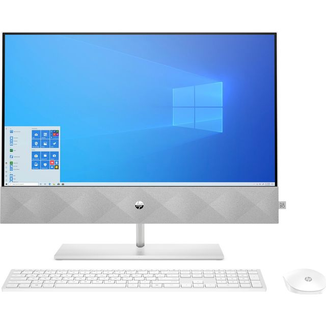 """HP 24-k0019na 23.8"""" All In One - 512GB SSD - Snow White"""