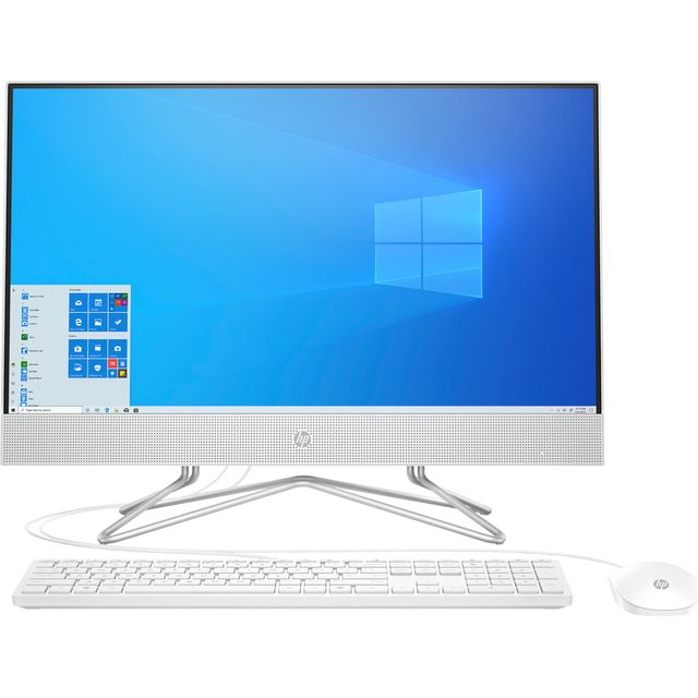 """HP 24-df0034na 23.8"""" All In One - 1TB + 256GB - Snow White"""