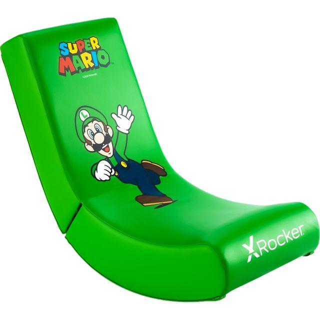 X Rocker Luigi Edition Gaming Chair - Green