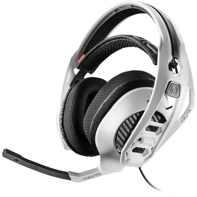 Plantronics 206816-05 Console Headset in White