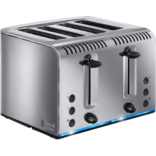 Russell Hobbs Buckingham 4 Slice Toaster - Stainless Steel