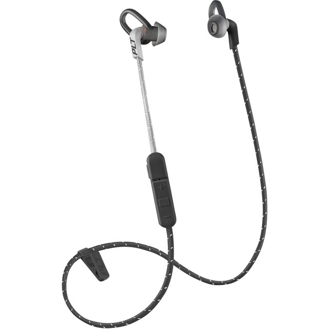 Plantronics Backbeat Fit 305 In-Ear Water Resistant Wireless Sports Headphones - Black