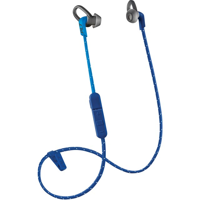 Plantronics Backbeat Fit 305 In-Ear Water Resistant Wireless Sports Headphones - Dark Blue - 209059-99 - 1