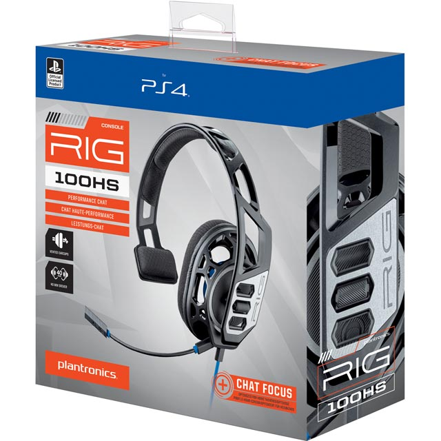 Plantronics RIG 100HS Gaming Headset - Black
