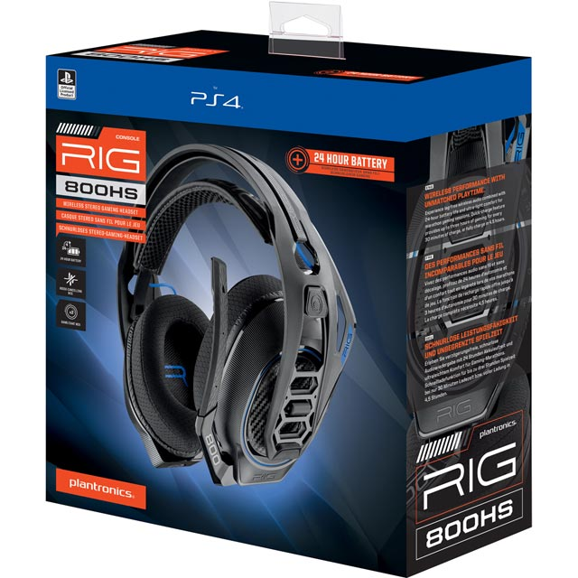 Plantronics RIG 800HS Gaming Headset - Black