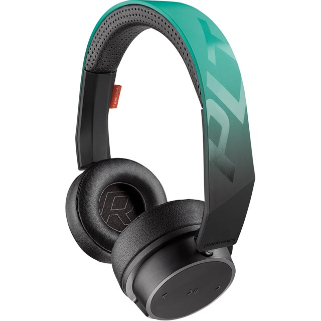 Plantronics Backbeat Fit 500 On-Ear Water Resistant Wireless Sports Headphones - Teal - 210701-99 - 1