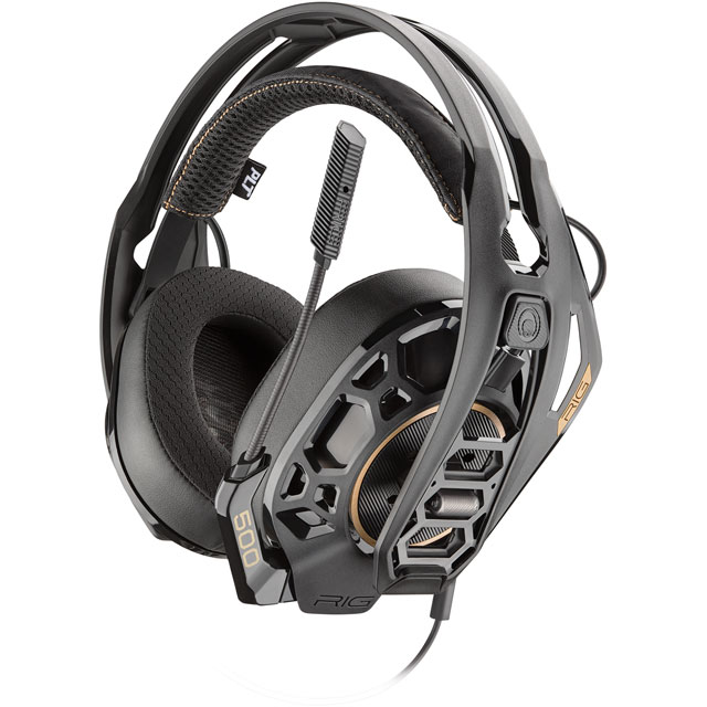 Plantronics RIG 500 PRO HC Gaming Headset - Black - 211220-05 - 1