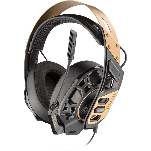 Plantronics RIG 500 PRO Gaming Headset - Black / Gold - 211223-05 - 1