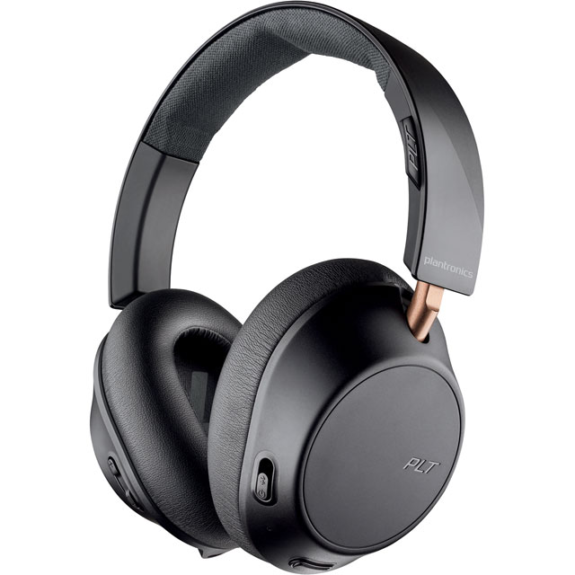 Plantronics BackBeat GO 810 Over-Ear Wireless Headphones - Graphite Black - 211820-99 - 1