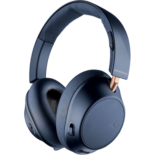 Plantronics BackBeat GO 810 Over-Ear Wireless Headphones - Navy Blue - 211821-99 - 1