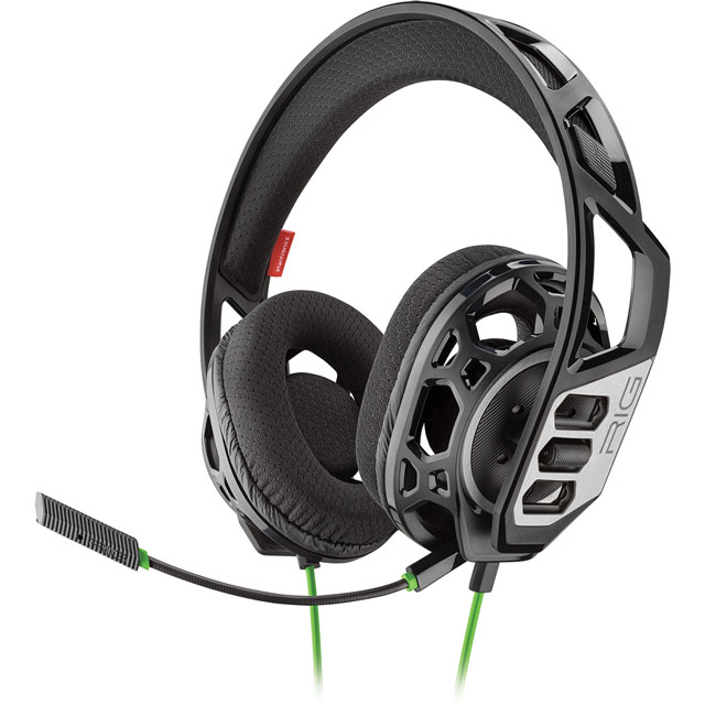 Plantronics RIG 300HX Gaming Headset - Black