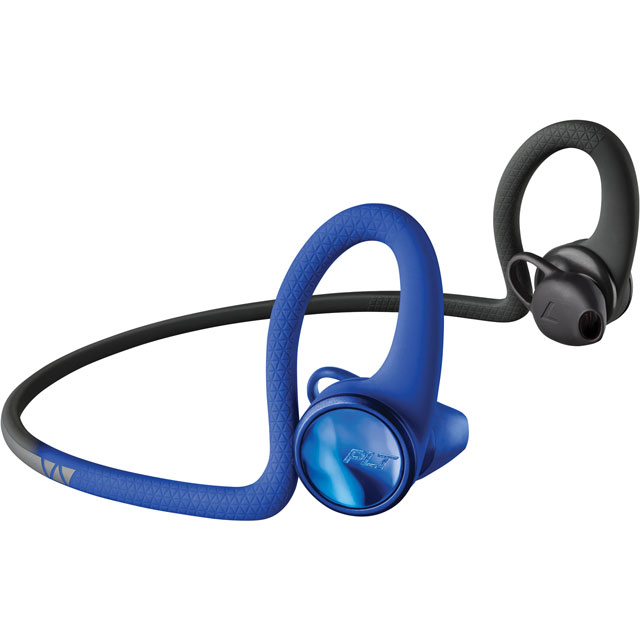 Plantronics BackBeat FIT 2100 In-Ear Water Resistant Wireless Sports Headphones - Blue - 212202-99 - 1