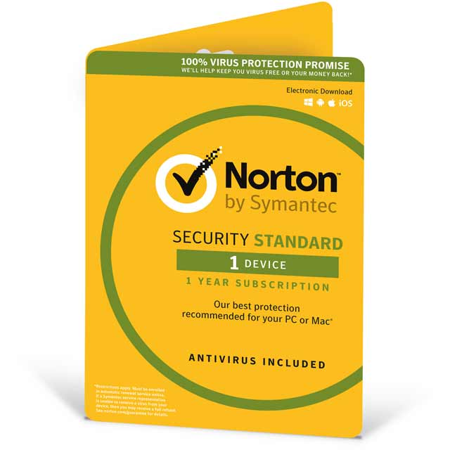 Norton Security Standard Digital Download for 1 Device