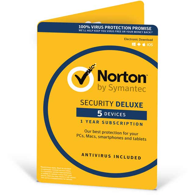 Norton Security Deluxe Software review