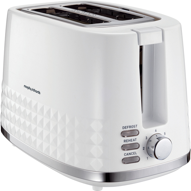 Morphy Richards Dimensions 220023 2 Slice Toaster - White