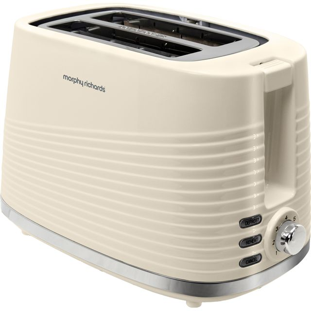 Morphy Richards Dune 220027 2 Slice Toaster - Cream - 220027_CR - 1