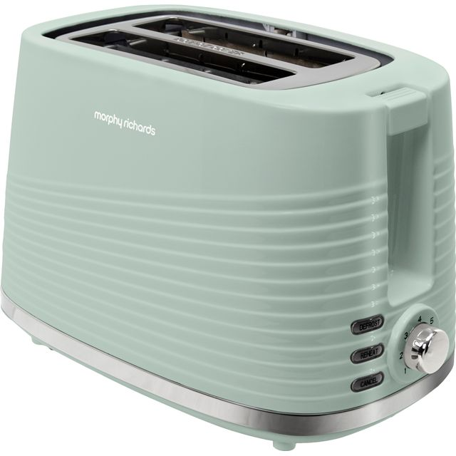 Morphy Richards Dune 220028 2 Slice Toaster - Green - 220028_SGR - 1
