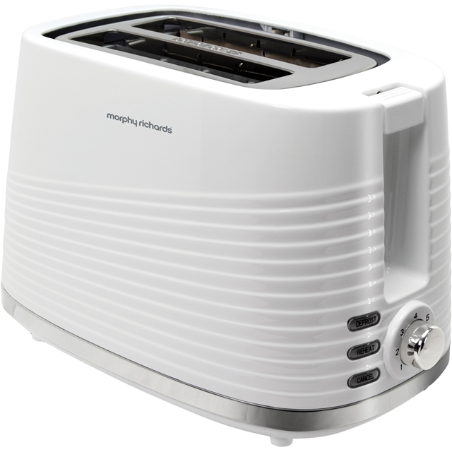 Morphy Richards Dune 220029 2 Slice Toaster - White - 220029_WH - 1