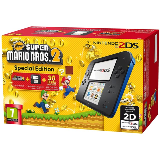 Nintendo 2DS with Super Mario Bros. 2 - 2204546 - 2204546 - 1