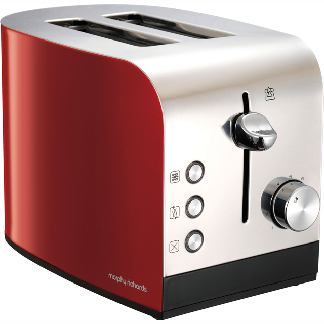 Morphy Richards Equip 222053 2 Slice Toaster - Red