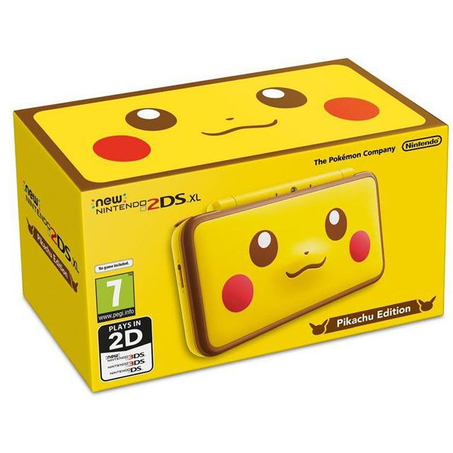 Nintendo 2DS XL 4GB - Yellow - 2209746 - 1