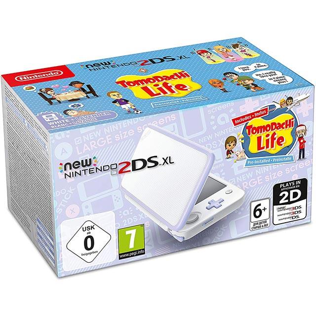 Nintendo 2219146 Console in White / Lavender
