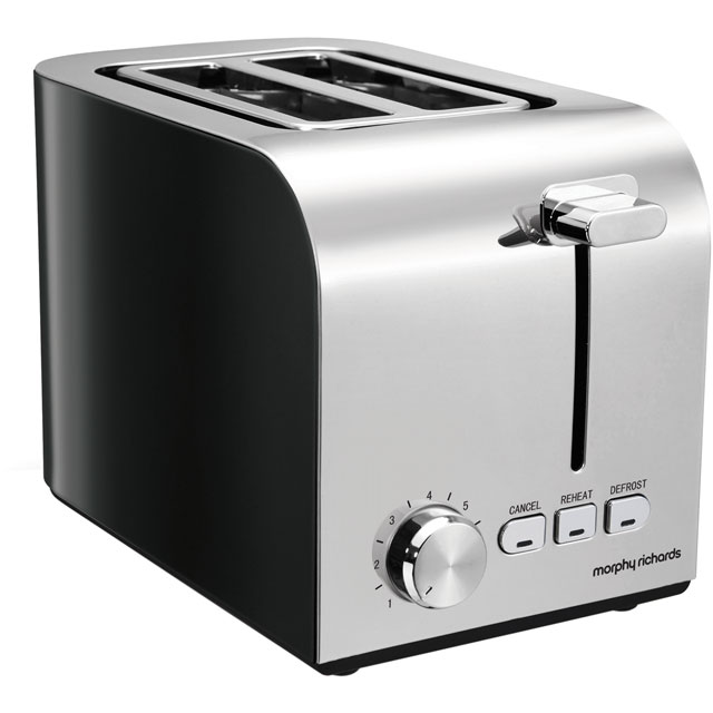 Morphy Richards Equip 222054 2 Slice Toaster - Black