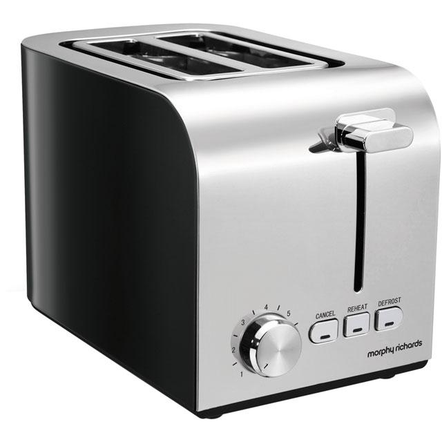 Morphy Richards Equip 222054 2 Slice Toaster - Black