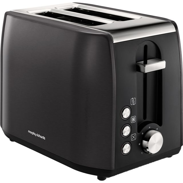 Morphy Richards Equip 222058 2 Slice Toaster - Black