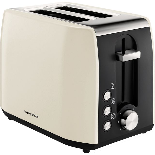 Morphy Richards Equip 222059 2 Slice Toaster - Cream