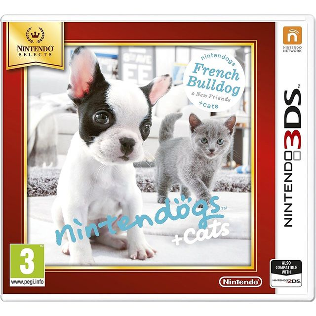 Nintendogs + Cats (French Bulldog) Selects for Nintendo 3DS - 2230646 - 1