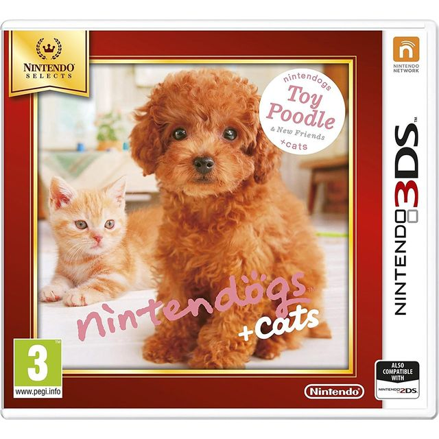 Nintendogs + Cats (Toy Poodle) Selects for Nintendo 3DS - 2230746 - 1
