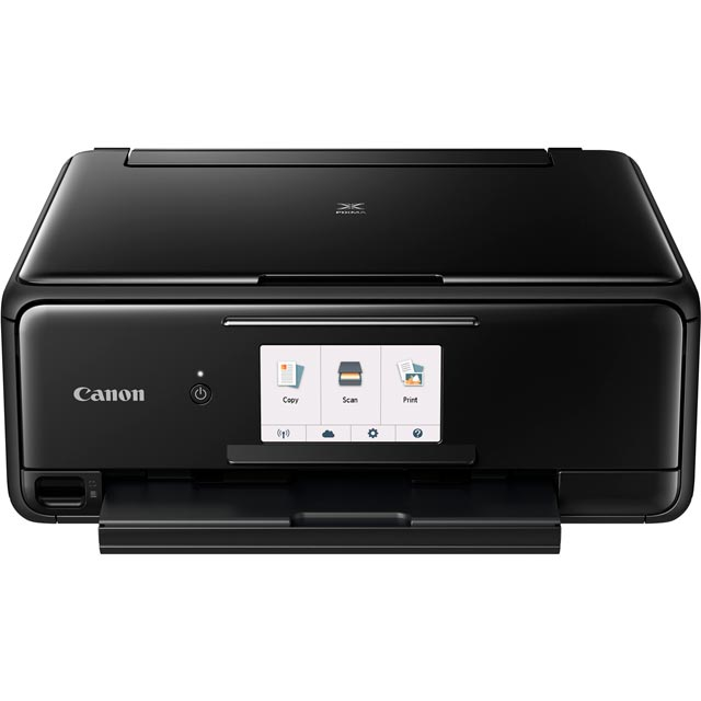 Canon PIXMA TS8150 Inkjet Printer - Black