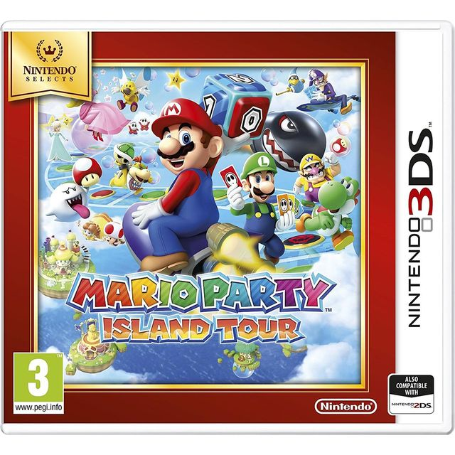Mario Party Island Tour Selects for Nintendo 3DS - 2231046 - 1