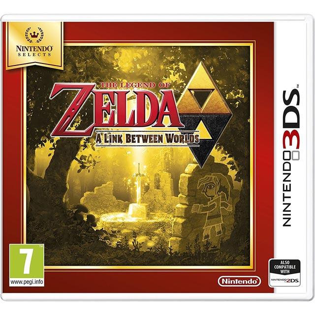 Legend of Zelda: Link Between Worlds Selects for Nintendo 3DS