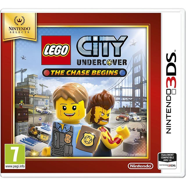 Lego City Undercover: The Chase Begins Selects for Nintendo 3DS - 2233746 - 1
