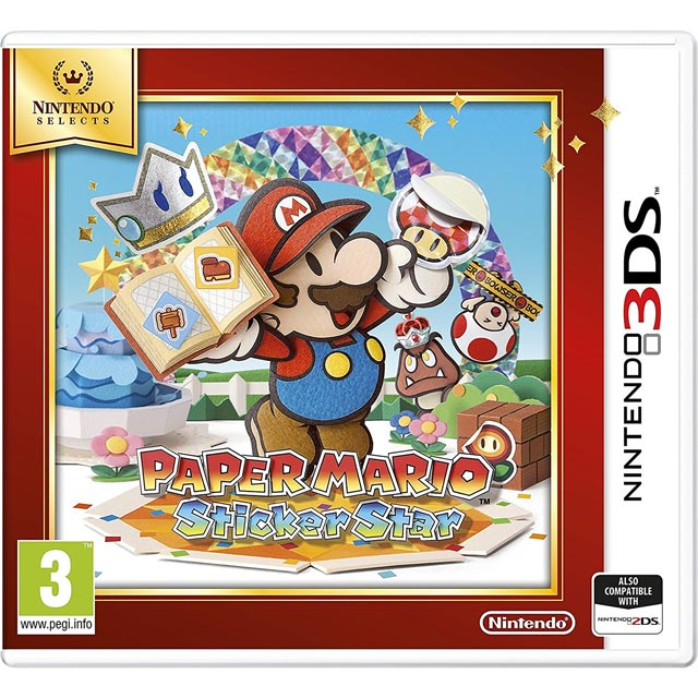 Paper Mario Sticker Star Selects for Nintendo 3DS