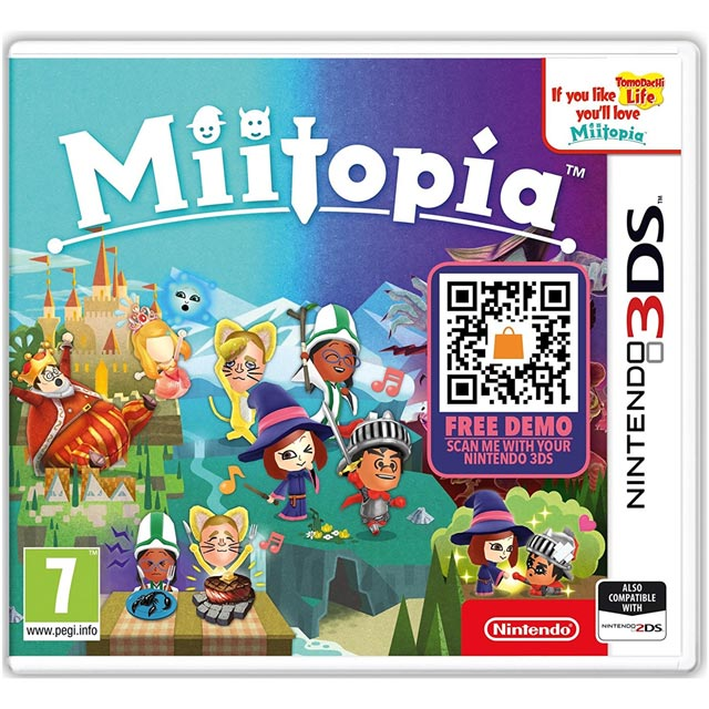3DS Miitopia for Nintendo 3DS