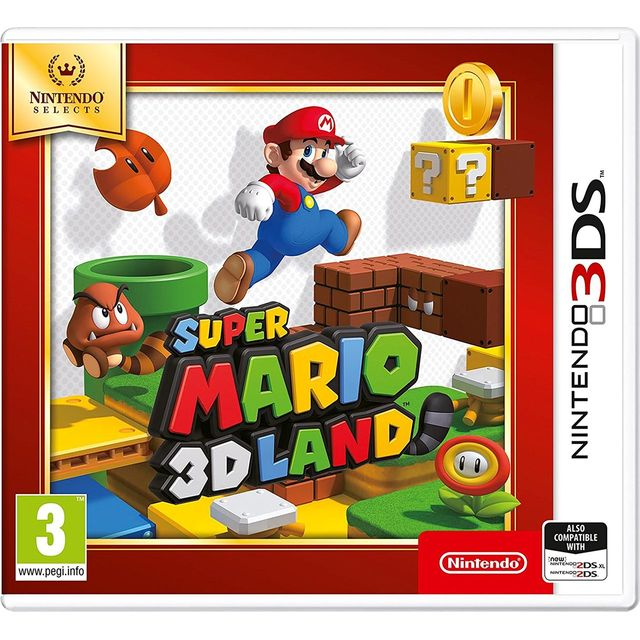 Super Mario 3D Land Selects for Nintendo 3DS
