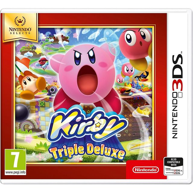 Kirby Triple Deluxe Selects for Nintendo 3DS