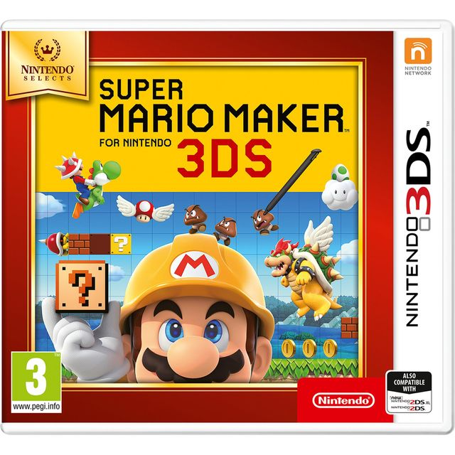 3DS Super Mario Maker Select for Nintendo 3DS