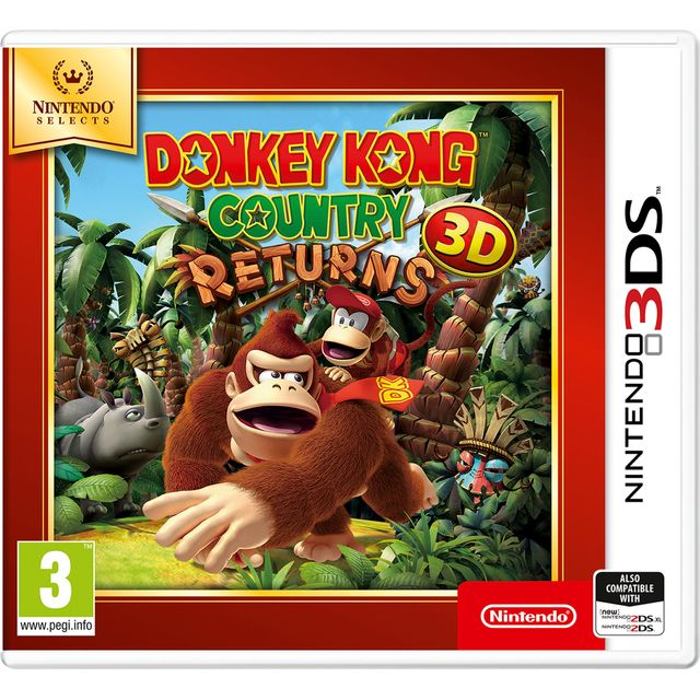 Donkey Kong Country Returns Selects for Nintendo 3DS