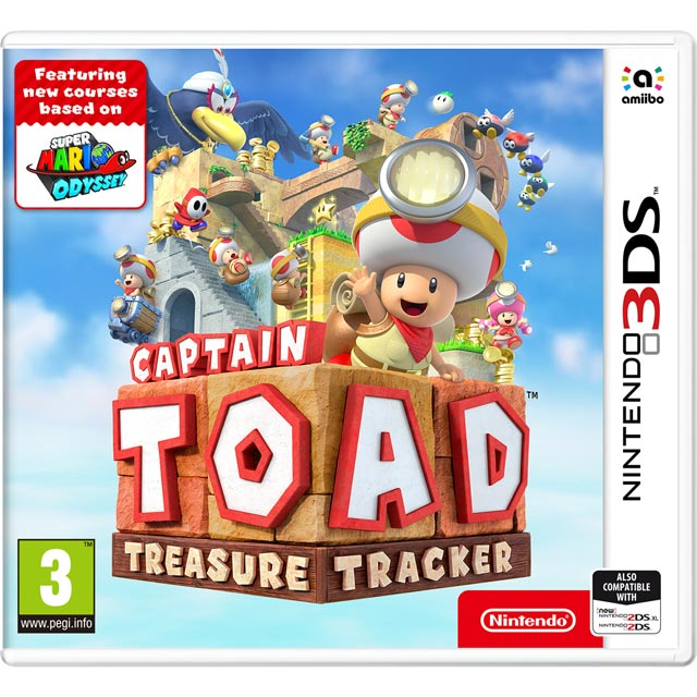 Captain Toads Treasure Tracker 3DS for Nintendo 3DS